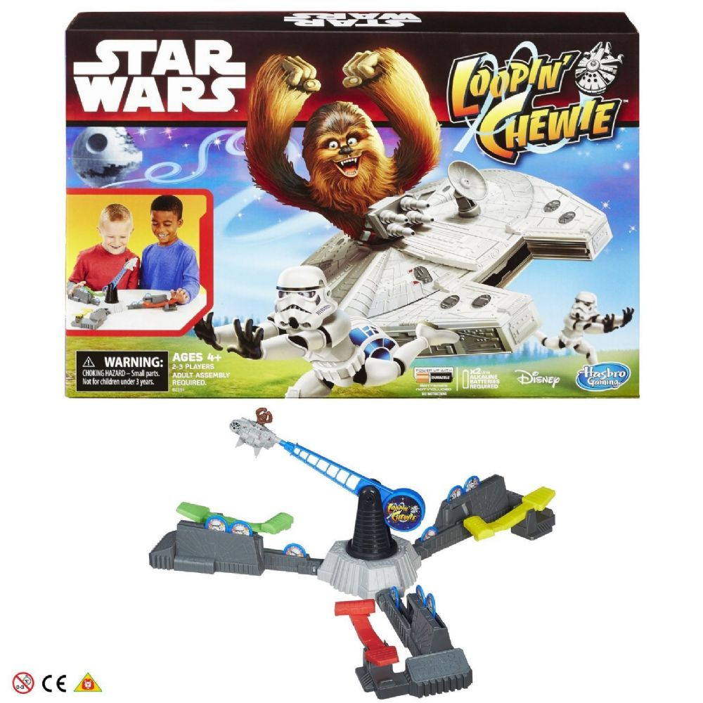 Disney Hasbro Star Wars Loopin' Chewie Game 4+ Years B2354